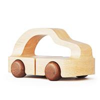 Mashinkus wooden toy car