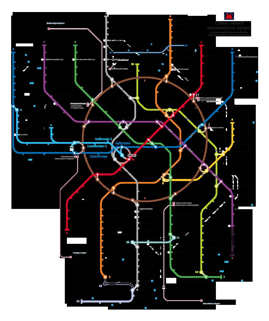 Альтернативные схемы московского метро