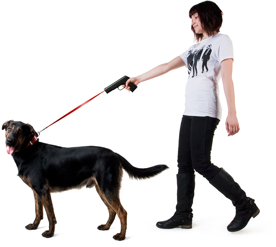 Retractable dog snap leash Povodokus