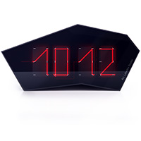 Reflectius clock