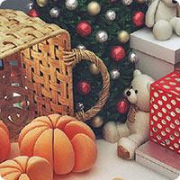 SBS Megamoll New Year decorations