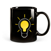 Mug and Lightbulb thermokruzhkus mugs