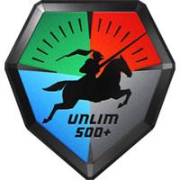 Unlim 500+ festival logo