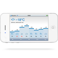 Yandex Weather app